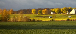 Environmental Health image – Ontario farm landscape
